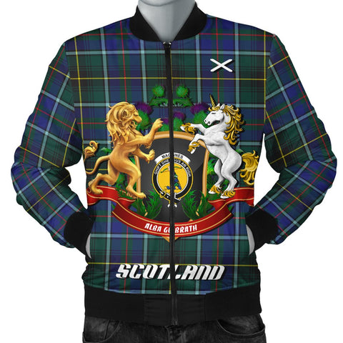 MacInnes Modern | Tartan Bomber Jacket | Scottish Jacket | Scotland Clothing
