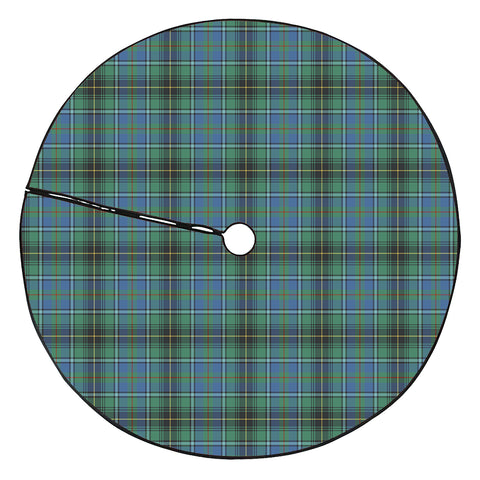 MacInnes Ancient Tartan Tree Skirt Christmas