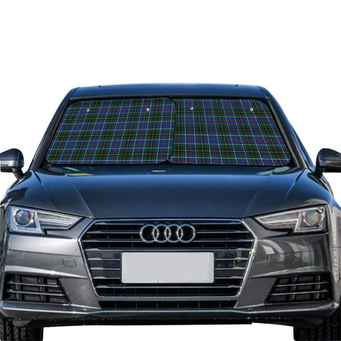 MacInnes Modern Clan Tartan Scotland Car Sun Shade 2pcs