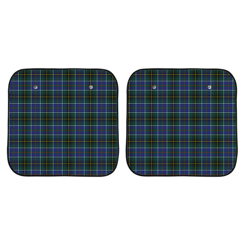 MacInnes Modern Clan Tartan Scotland Car Sun Shade 2pcs K7