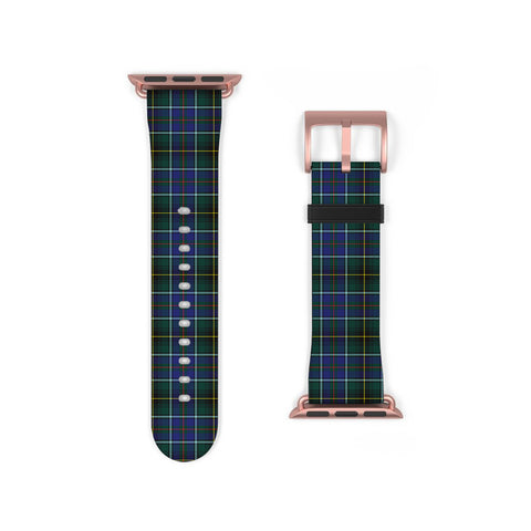 MacInnes Modern Scottish Clan Tartan Watch Band Apple Watch