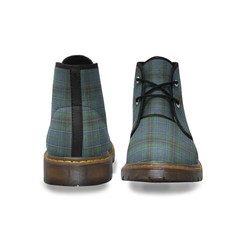 Image of MacInnes Ancient Tartan Chukka Boot | Over 500 Tartans | Special Custom Design | Love Scotland