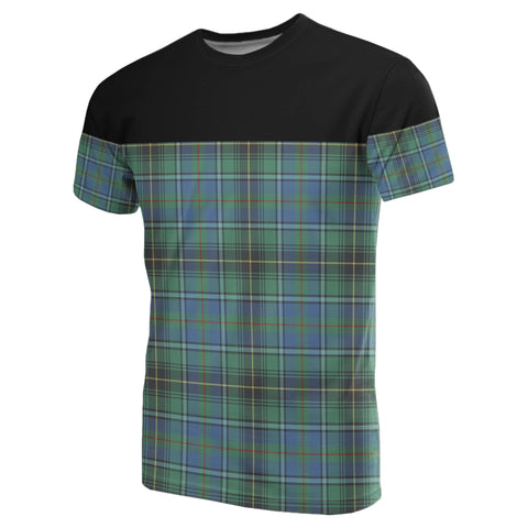 Tartan Horizontal T-Shirt - Macinnes Ancient