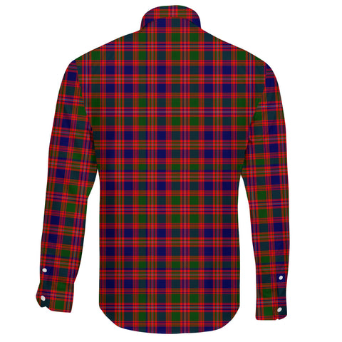 MacIntyre Modern Tartan Clan Long Sleeve Button Shirt A91
