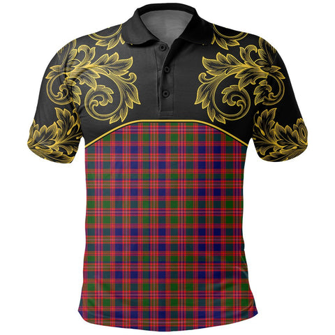 Image of MacIntyre Modern Tartan Clan Crest Polo Shirt - Empire I - HJT4 - Scottish Clans Store - Tartan Clans Clothing - Scottish Tartan Shopping - Clans Crest - Shopping In scottishclans - Polo Shirt For You