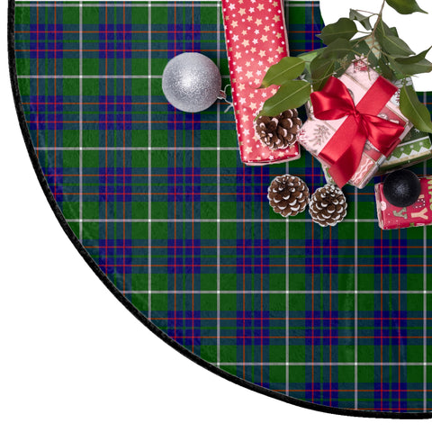 MacIntyre Hunting Modern Tartan Tree Skirt Christmas