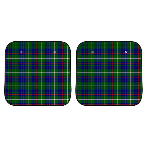 MacIntyre Hunting Modern Clan Tartan Scotland Car Sun Shade 2pcs K7