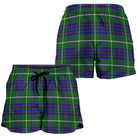 MacIntyre Hunting Modern Crest Tartan Shorts For Women K7