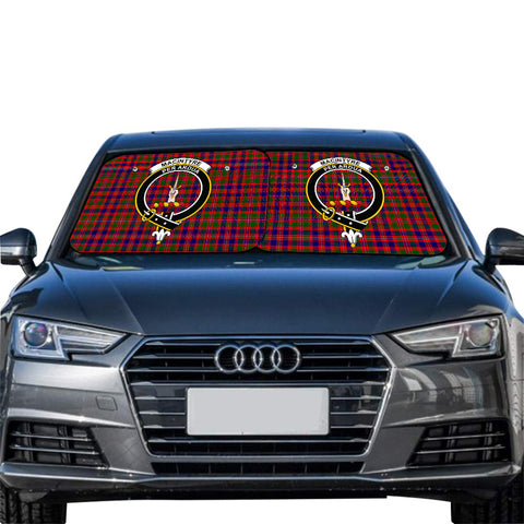 Image of MacIntyre Modern Clan Crest Tartan Scotland Car Sun Shade 2pcs