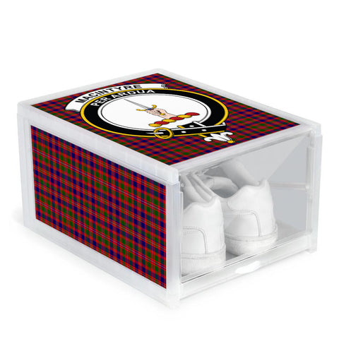 Image of MacIntyre Modern Clan Crest Tartan Scottish Shoe Organizers