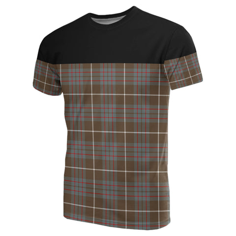 Tartan Horizontal T-Shirt - Macintyre Hunting Weathered