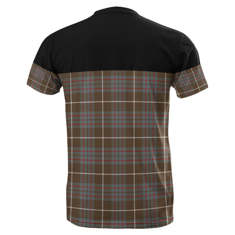 Tartan Horizontal T-Shirt - Macintyre Hunting Weathered - BN
