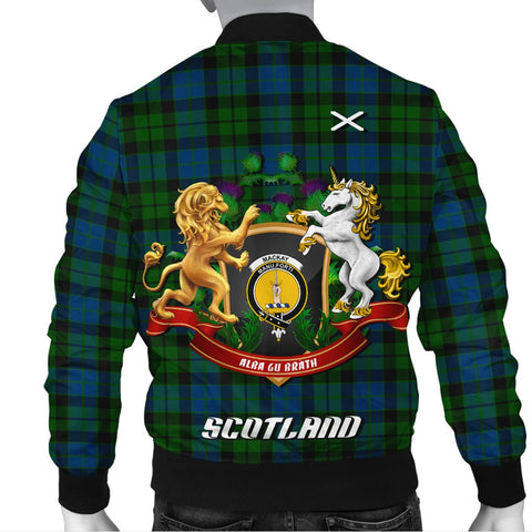 MacKay Modern | Tartan Bomber Jacket | Scottish Jacket | Scotland Clothing
