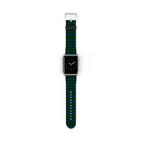 MacKay Modern Scottish Clan Tartan Watch Band Apple Watch