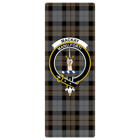 MacKay Weathered Clan Crest Tartan Yoga mats
