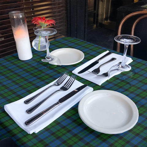 MacKay Modern Tartan Tablecloth | Home Decor