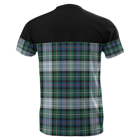 Tartan Horizontal T-Shirt - Mackenzie Dress Ancient - BN