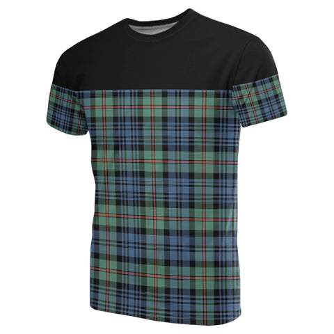 Tartan Horizontal T-Shirt - Mackinlay Ancient