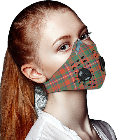 Image of MacKinnon Ancient Tartan Dust-proof Sports Masks ( Model 1) - TH88 (USA Shipping Line)