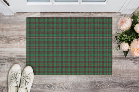 MacKinnon Hunting Ancient Tartan Carpets Front Door A91