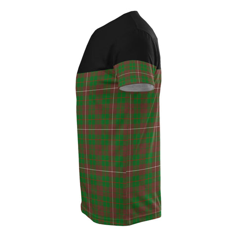 Tartan Horizontal T-Shirt - Mackinnon Hunting Modern - BN