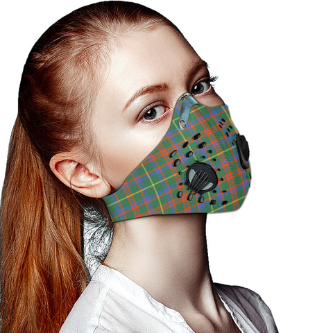 MacKintosh Hunting Ancient Tartan Dust-proof Sports Masks ( Model 1) - TH88 (USA Shipping Line)