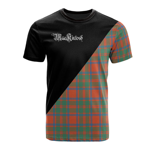 MacKintosh Ancient Clan Military Logo T-Shirt