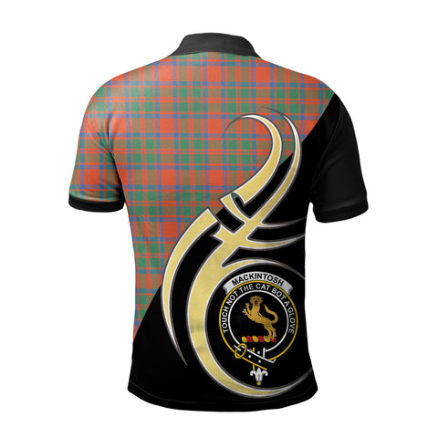 MacKintosh Ancient Clan Believe In Me Polo Shirt