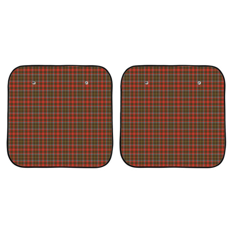 MacKintosh Hunting Weathered Clan Tartan Scotland Car Sun Shade 2pcs K7