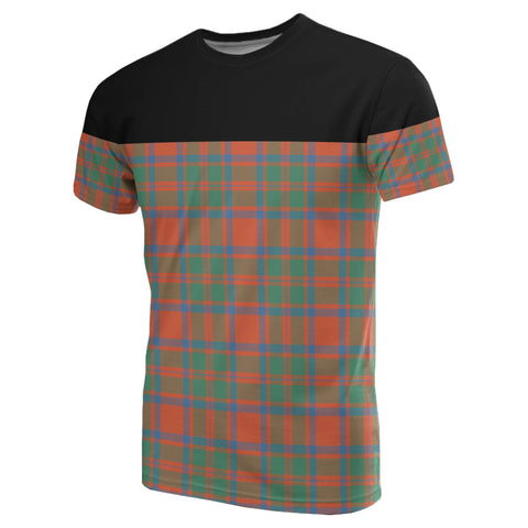 Tartan Horizontal T-Shirt - Mackintosh Ancient