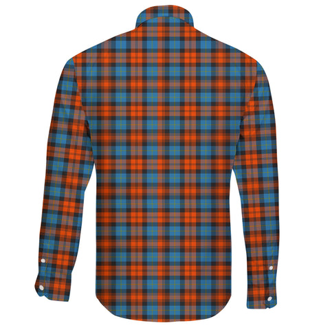 Image of MacLachlan Ancient Tartan Clan Long Sleeve Button Shirt A91