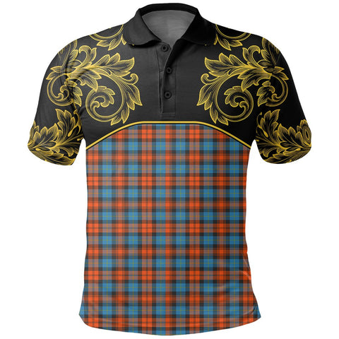 MacLachlan Ancient Tartan Clan Crest Polo Shirt - Empire I - HJT4 - Scottish Clans Store - Tartan Clans Clothing - Scottish Tartan Shopping - Clans Crest - Shopping In scottishclans - Polo Shirt For You