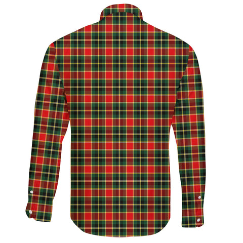 MacLachlan Hunting Modern Tartan Clan Long Sleeve Button Shirt A91
