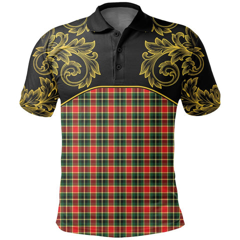 MacLachlan Hunting Modern Tartan Clan Crest Polo Shirt - Empire I - HJT4 - Scottish Clans Store - Tartan Clans Clothing - Scottish Tartan Shopping - Clans Crest - Shopping In scottishclans - Polo Shirt For You