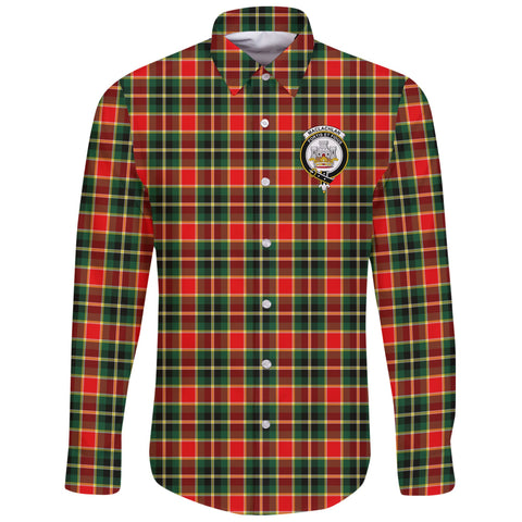 Image of MacLachlan Hunting Modern Tartan Clan Long Sleeve Button Shirt | Scottish Clan