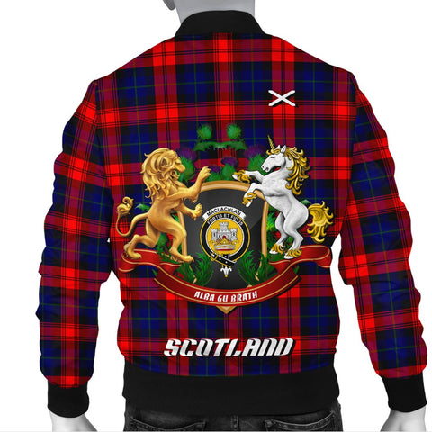 MacLachlan Modern | Tartan Bomber Jacket | Scottish Jacket | Scotland Clothing