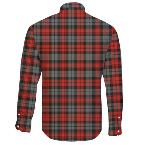 Image of MacLachlan Weathered Tartan Clan Long Sleeve Button Shirt A91