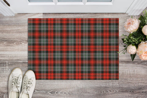 MacLachlan Weathered Tartan Carpets Front Door A91