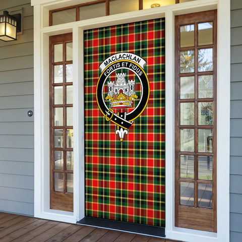 Image of MacLachlan Hunting Modern Tartan Door Sock Cover