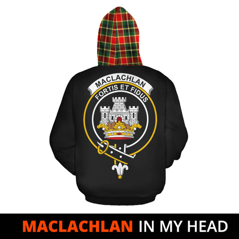 MacLachlan Hunting Modern In My Head Hoodie Tartan Scotland K9