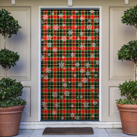 MacLachlan Hunting Modern Christmas Tartan Door Sock Cover
