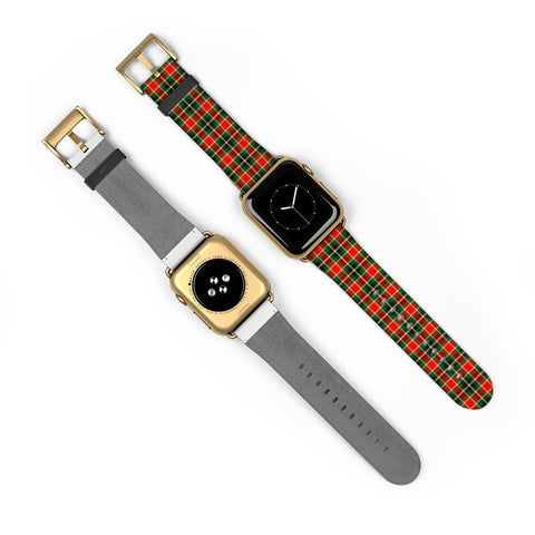 Image of MacLachlan Hunting Modern Scottish Clan Tartan Watch Band Apple Watch