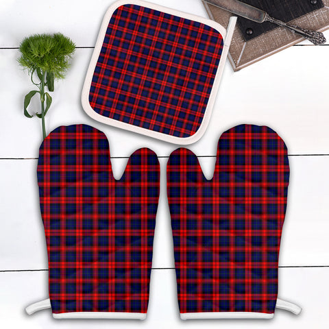 MacLachlan Modern Clan Tartan Scotland Oven Mitt And Pot-Holder (Set Of Two)