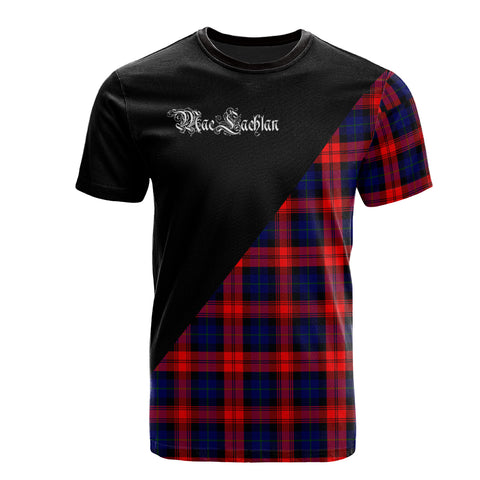 Image of MacLachlan Modern Clan Military Logo T-Shirt