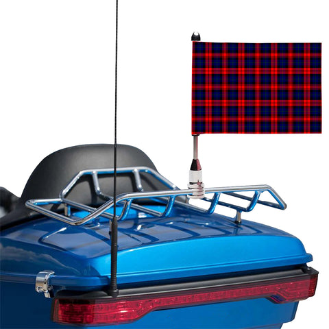 Image of MacLachlan Modern Clan Tartan Motorcycle Flag