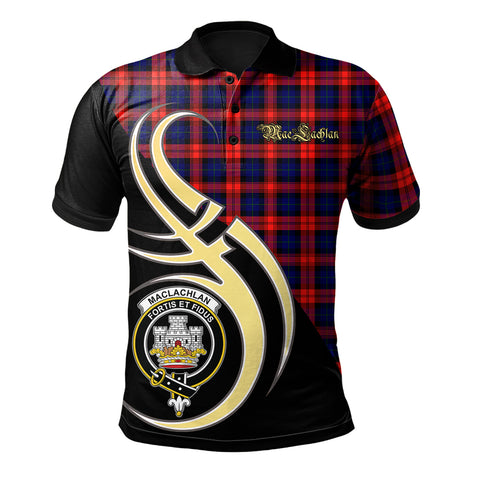 MacLachlan Modern Clan Believe In Me Polo Shirt