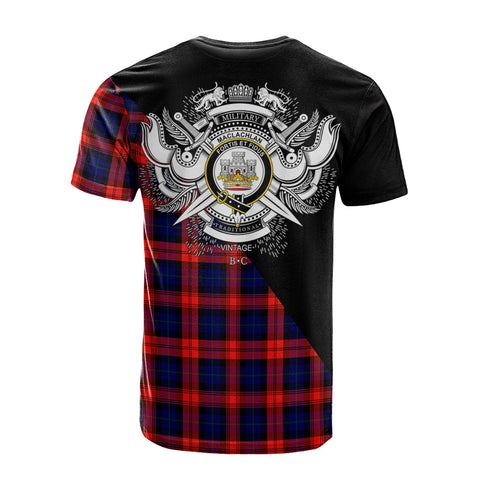 Image of MacLachlan Modern Clan Military Logo T-Shirt K23