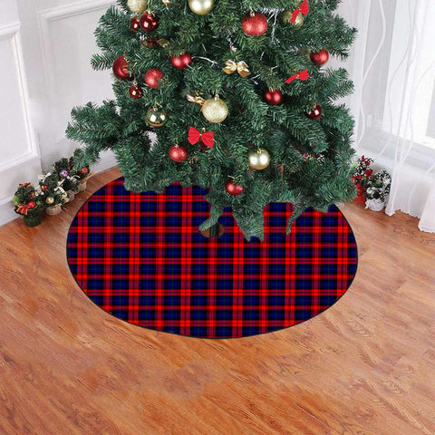 Image of MacLachlan Modern Tartan Tree Skirt Christmas