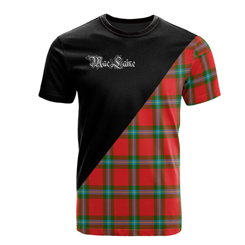 MacLaine of Loch Buie Clan Military Logo T-Shirt