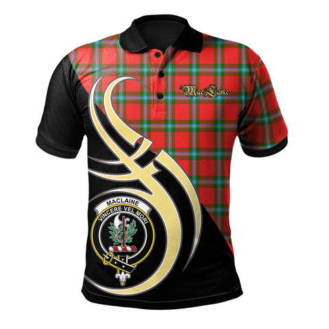 MacLaine of Loch Buie Clan Believe In Me Polo Shirt